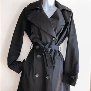 Come Haan Double Breasted Trench Coat Small